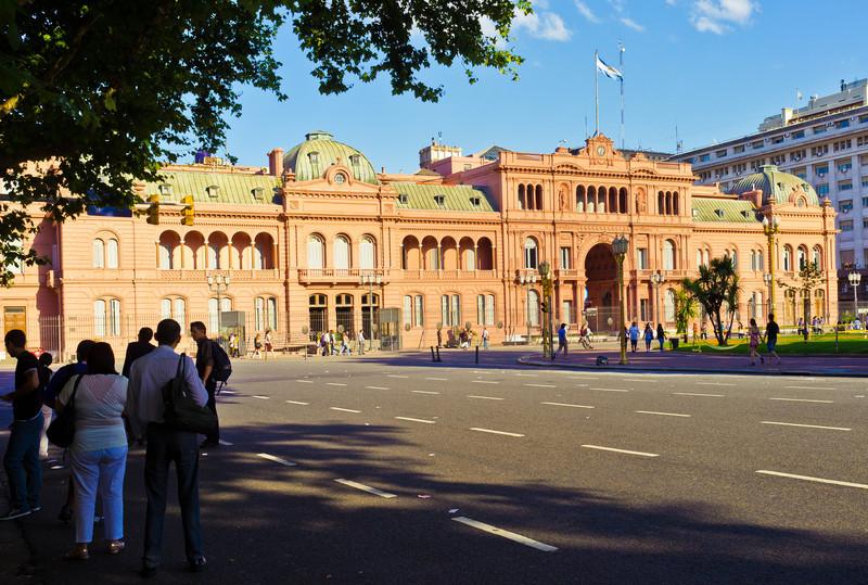 La Casa Rosada, Plaza de Mayo, Buenos Aires