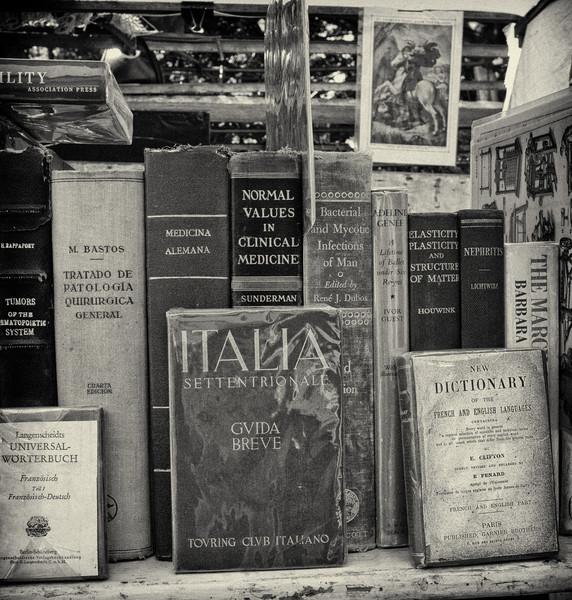 Old Books, San Telmo Market, Buenos Aires