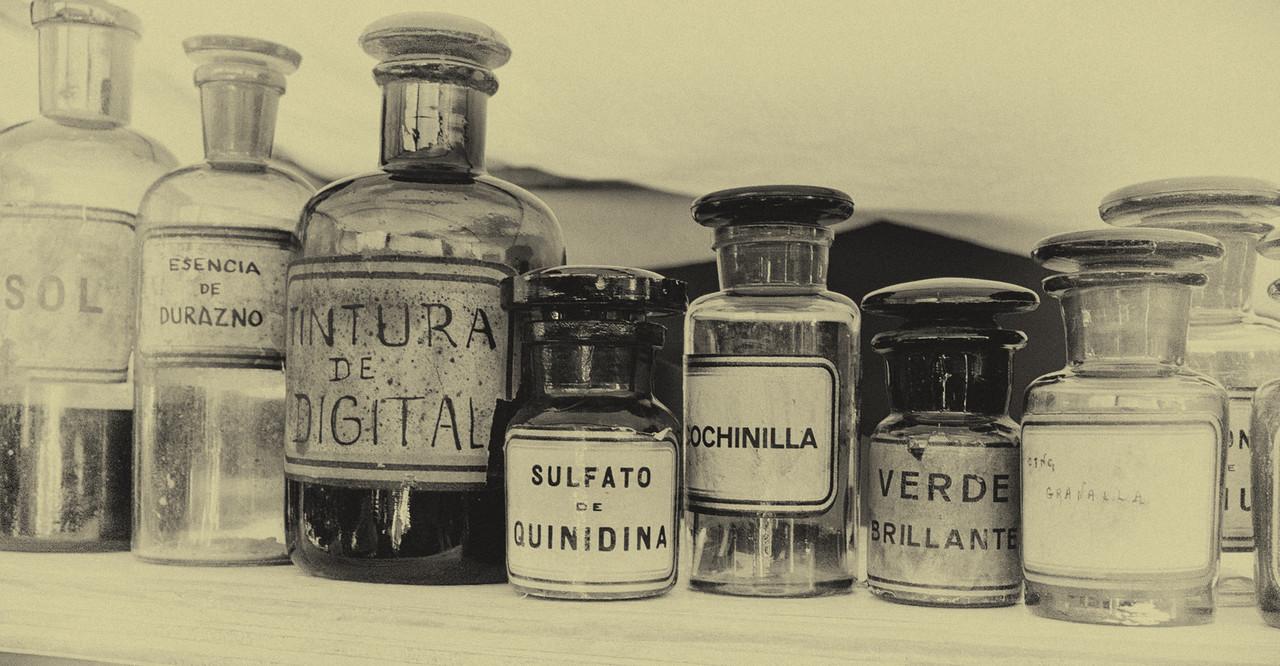 Old Medications, San Telmo Market, Buenos Aires