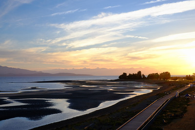 Sunrise over Parksville Beach