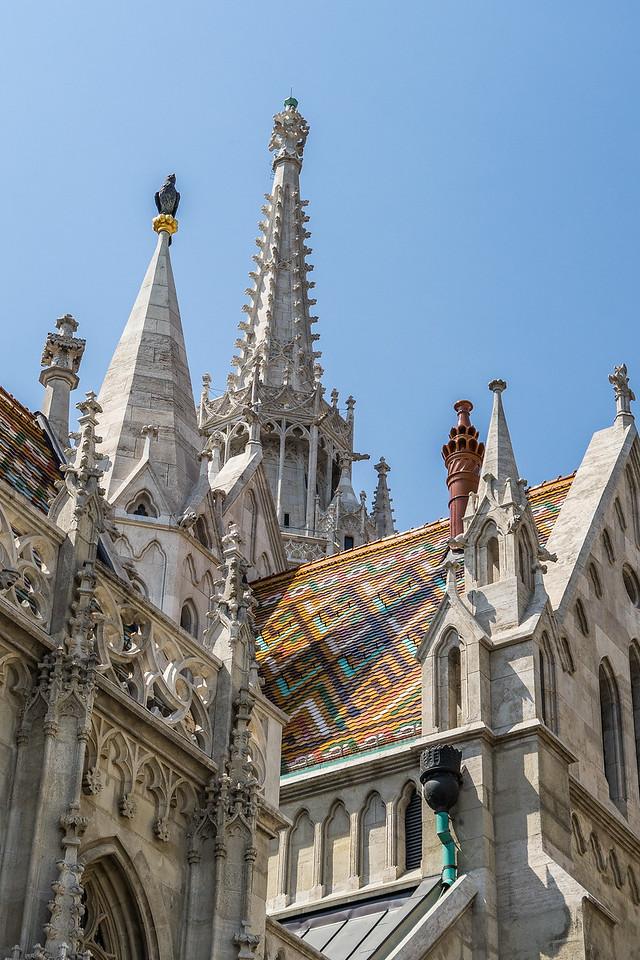 Matthias Church on Castle Hill, Budapest