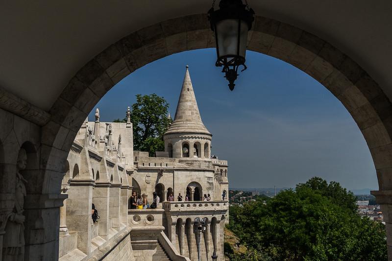 Fisherman's Bastion Castle Hill, Budapest