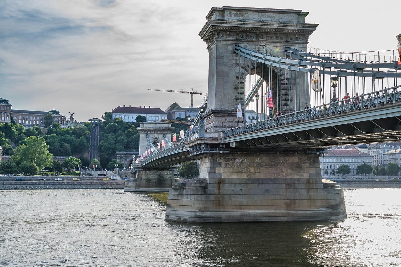 Chain Bridge across the Danube, Budapest