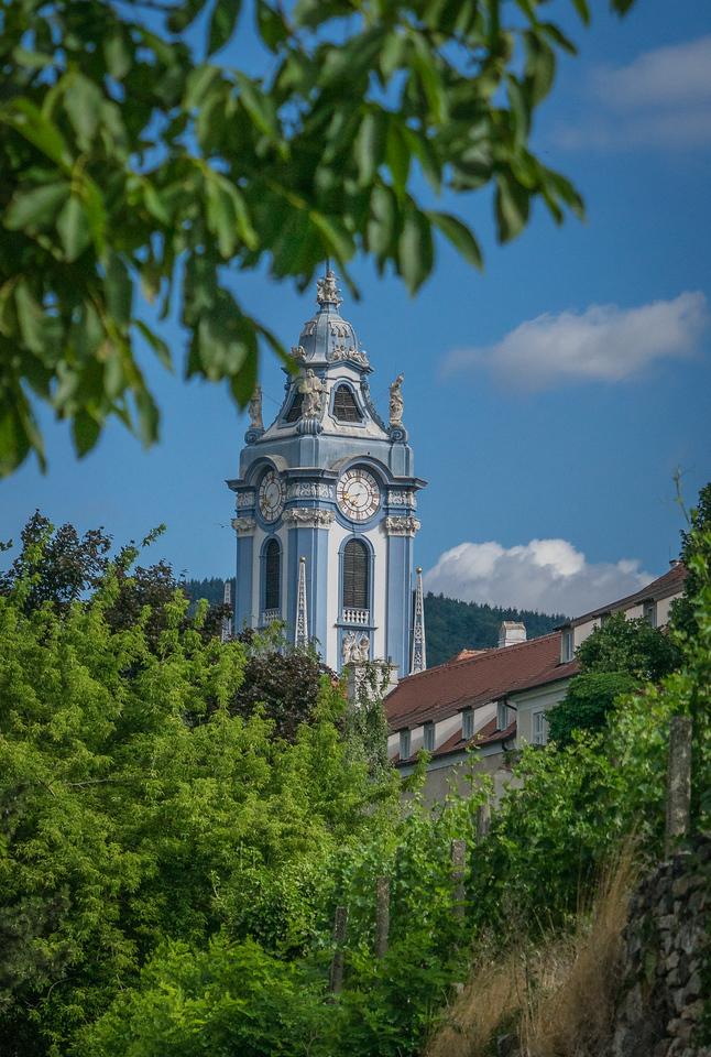 Clocktower of Durnstein Abbey