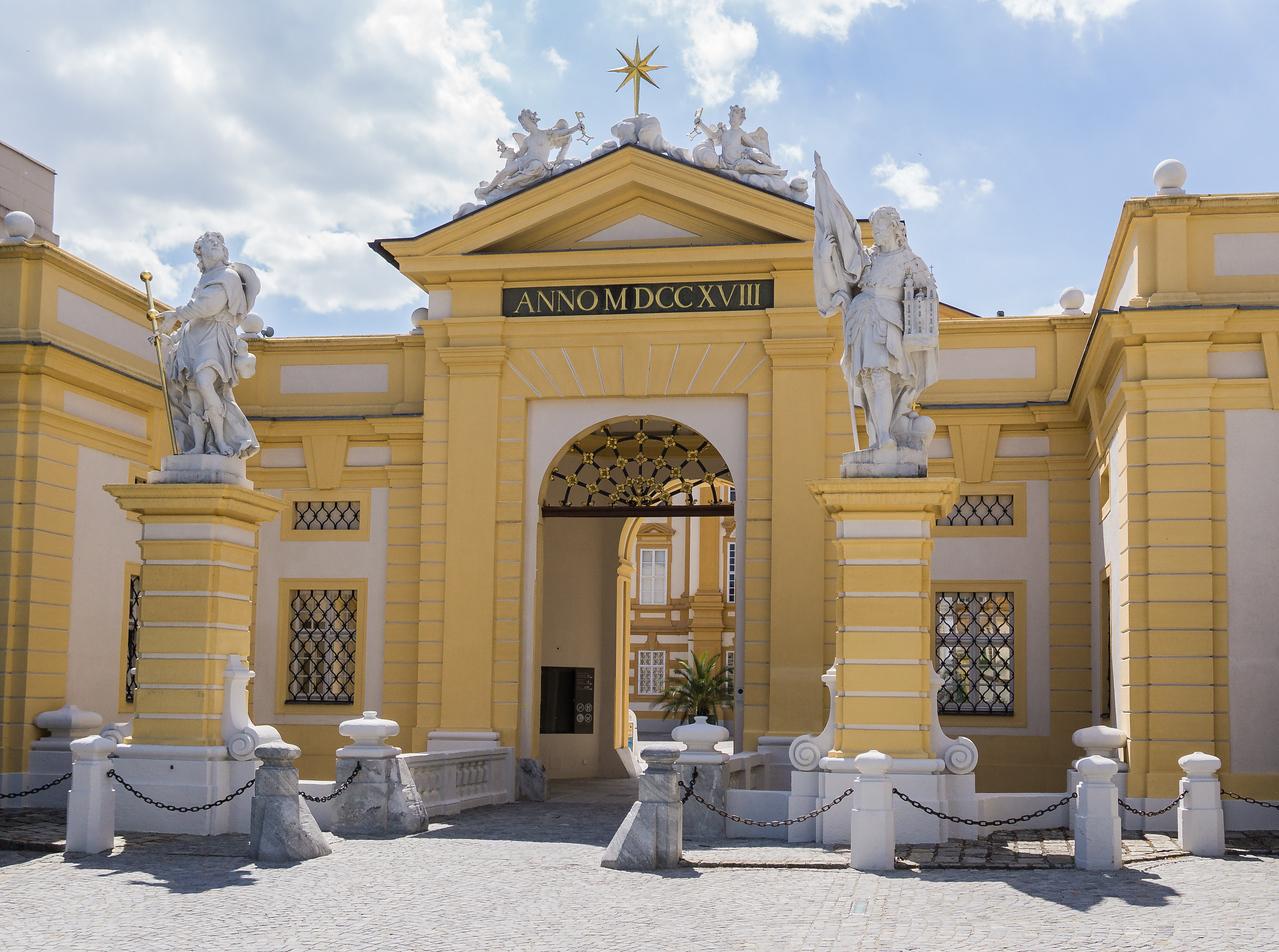 Benedictine Abbey, Melk, Wachau Valley, Austria