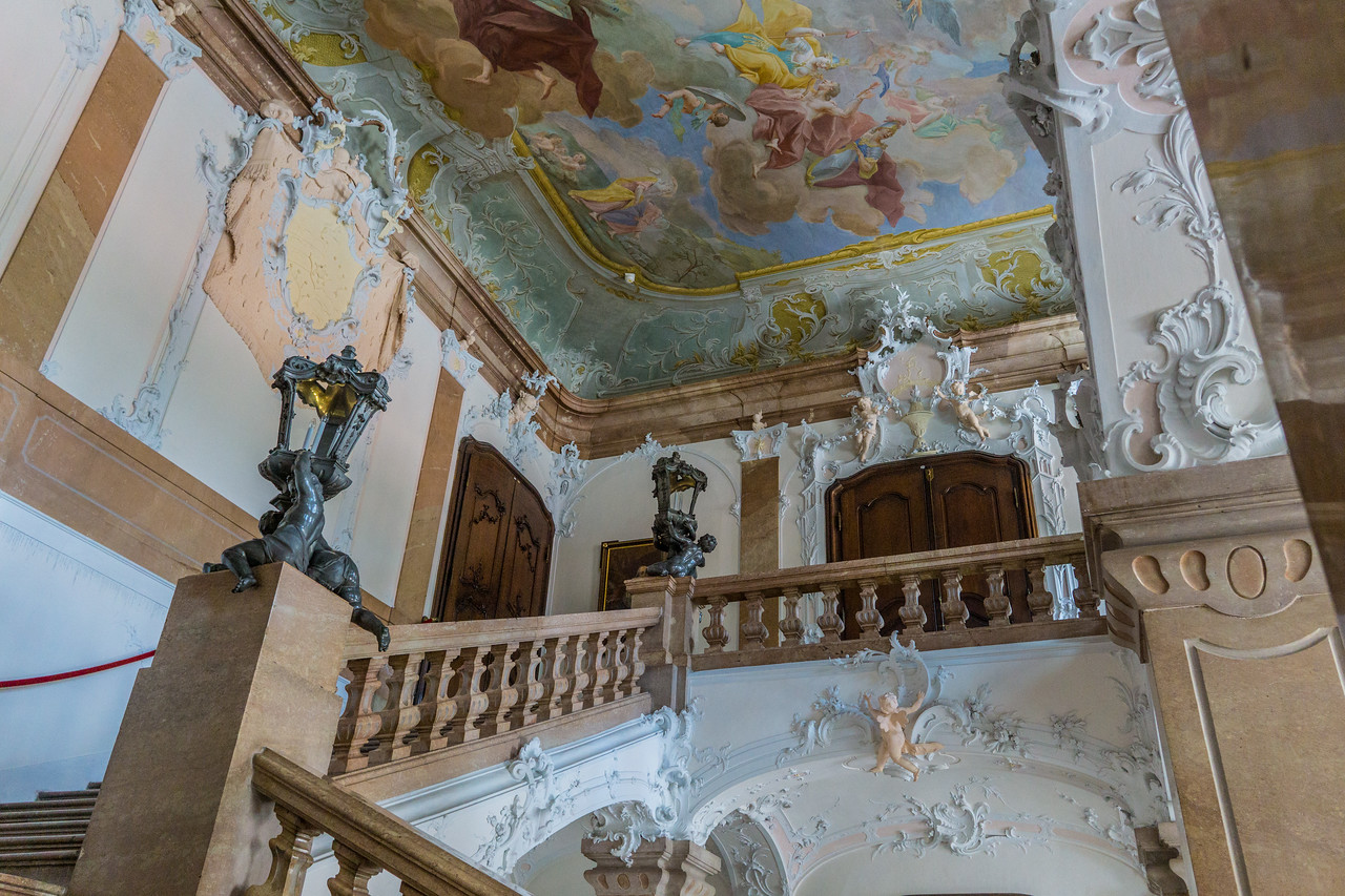 New Bishop's Residence, Passau, Germany