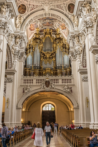 St. Stephen's Church, Passau, Germany. World's largest pipe organ