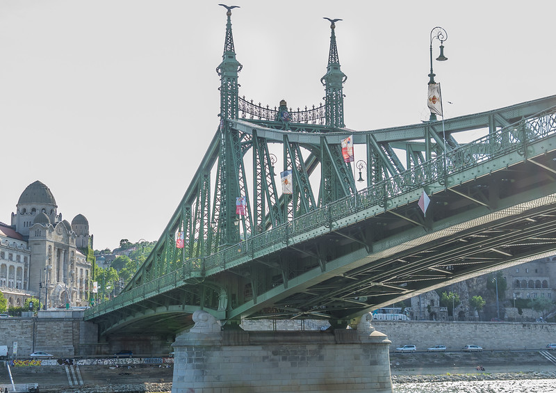 Liberty Bridge over Danube in Budapest