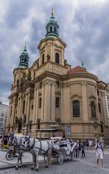 St. Nicholas' Curch, Old Town Square, Prague