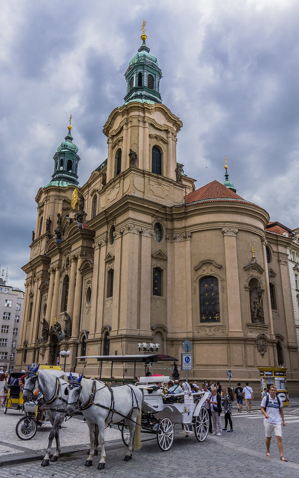 St. Nicholas' Curch, Old Town Square, Prague