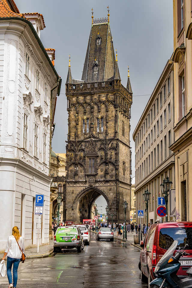Powder Tower (Gate), Prague
