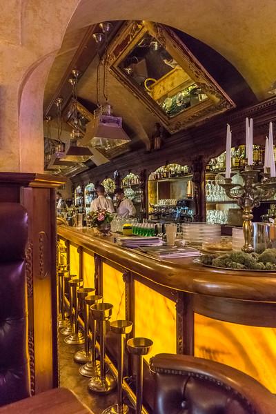 Bar in the U Prince Hotel, Prague