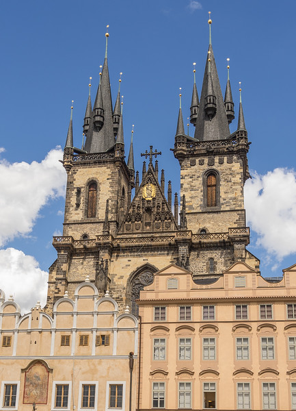 Tyn Church on Old Town Square, Prague