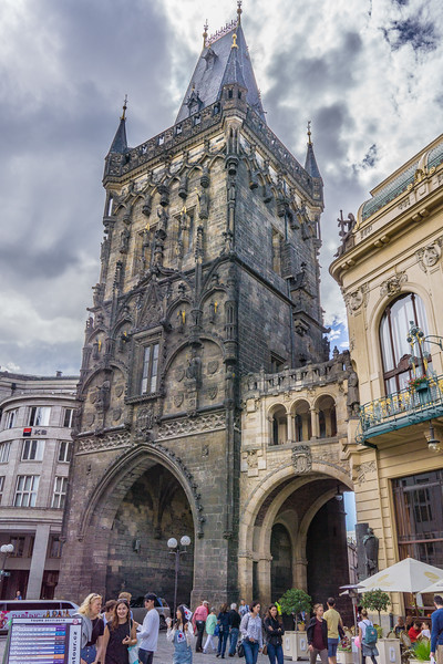 Powder Tower (Gate), Prague.