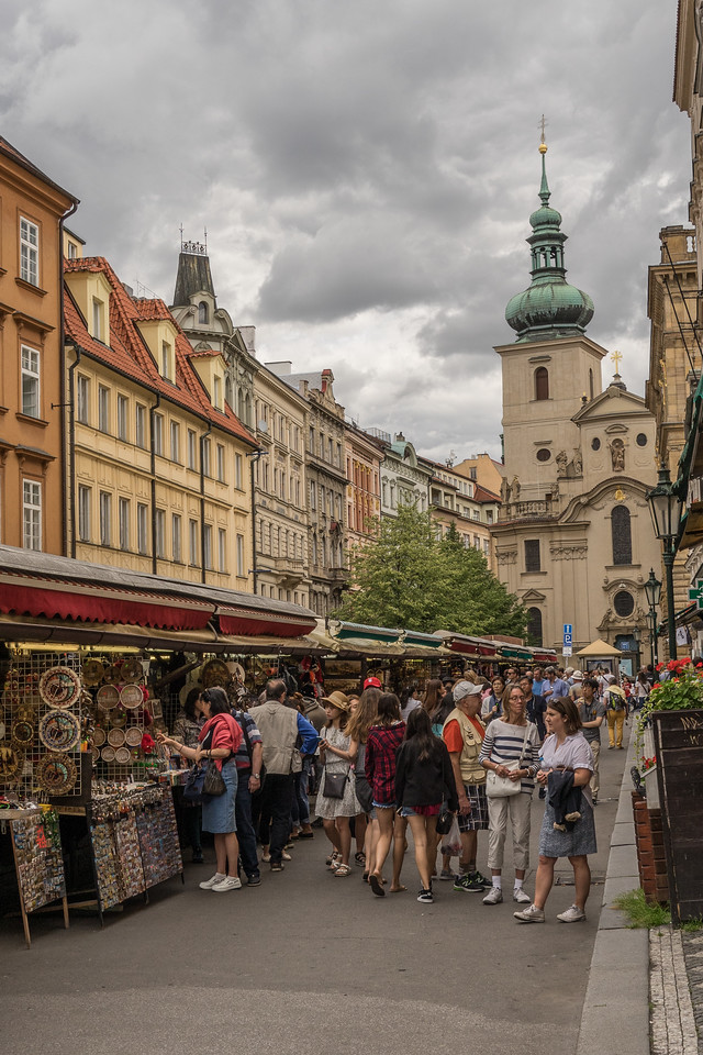 Street Market, Prague