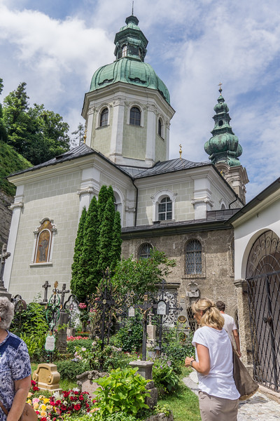 St. Peter's Cemetery and Catacombs where Von Trapp family hid in SoM.