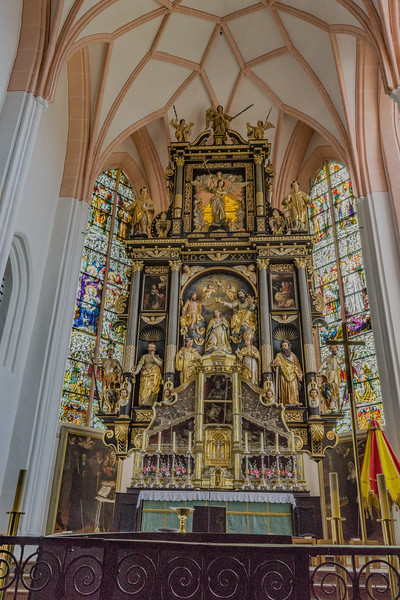 St. Michael's Church in Mondsee, Austria. Site where wedding scene filmed for Sound of Music