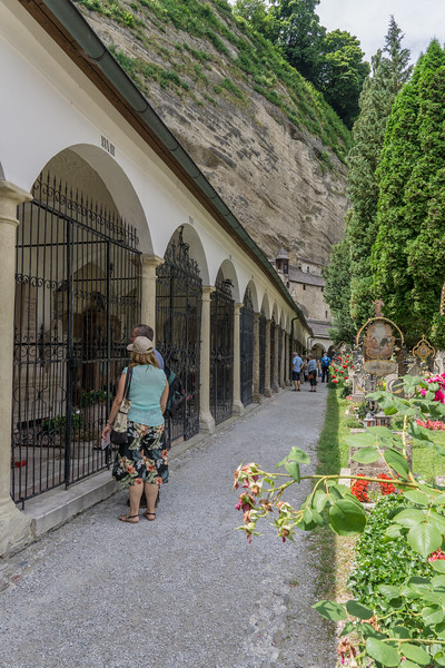 St. Peter's Cemetery and Catacombs where Von Trapp family hid in SoM