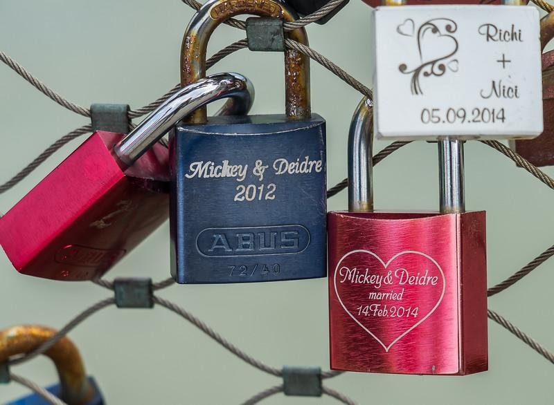 """Love Locks"" -- worked!"