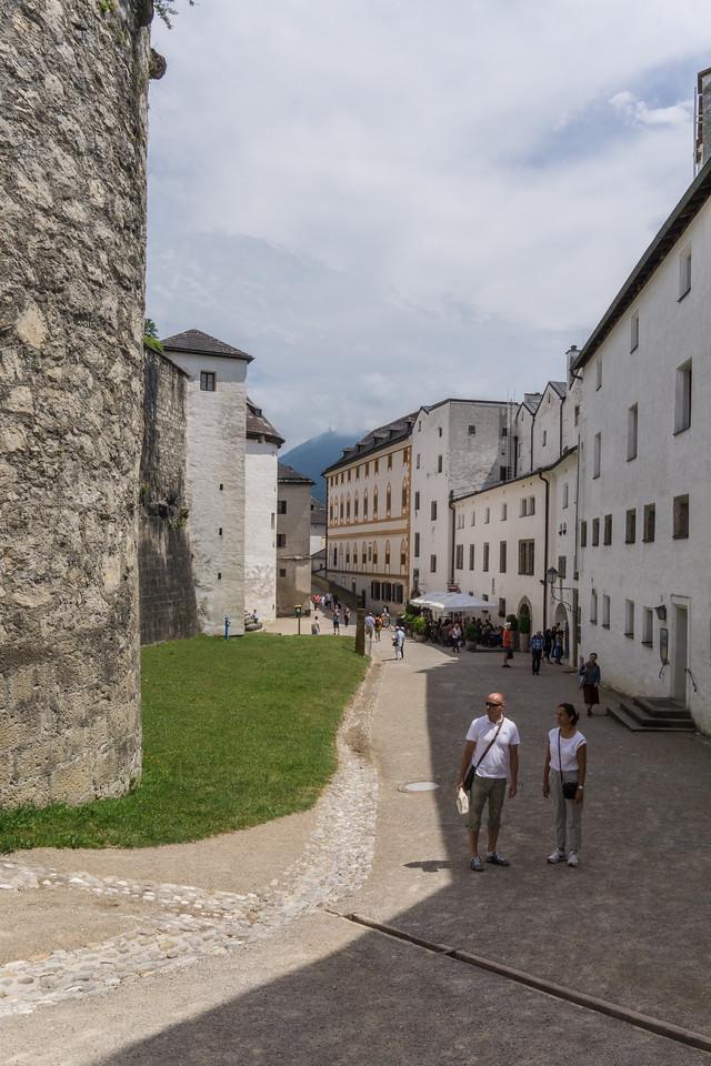Inside Salzburg Castle