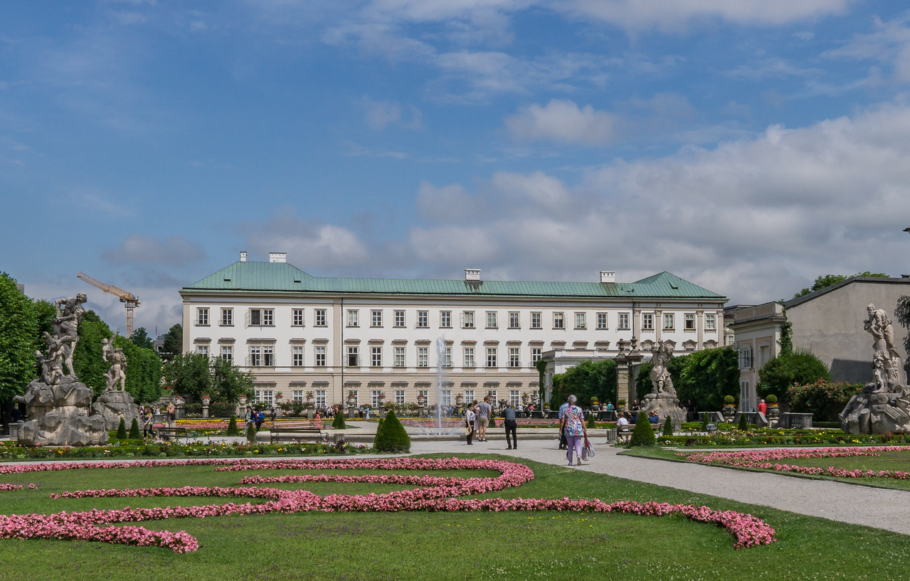 Mirbell Palace and Gardens, Salzburg, Austria