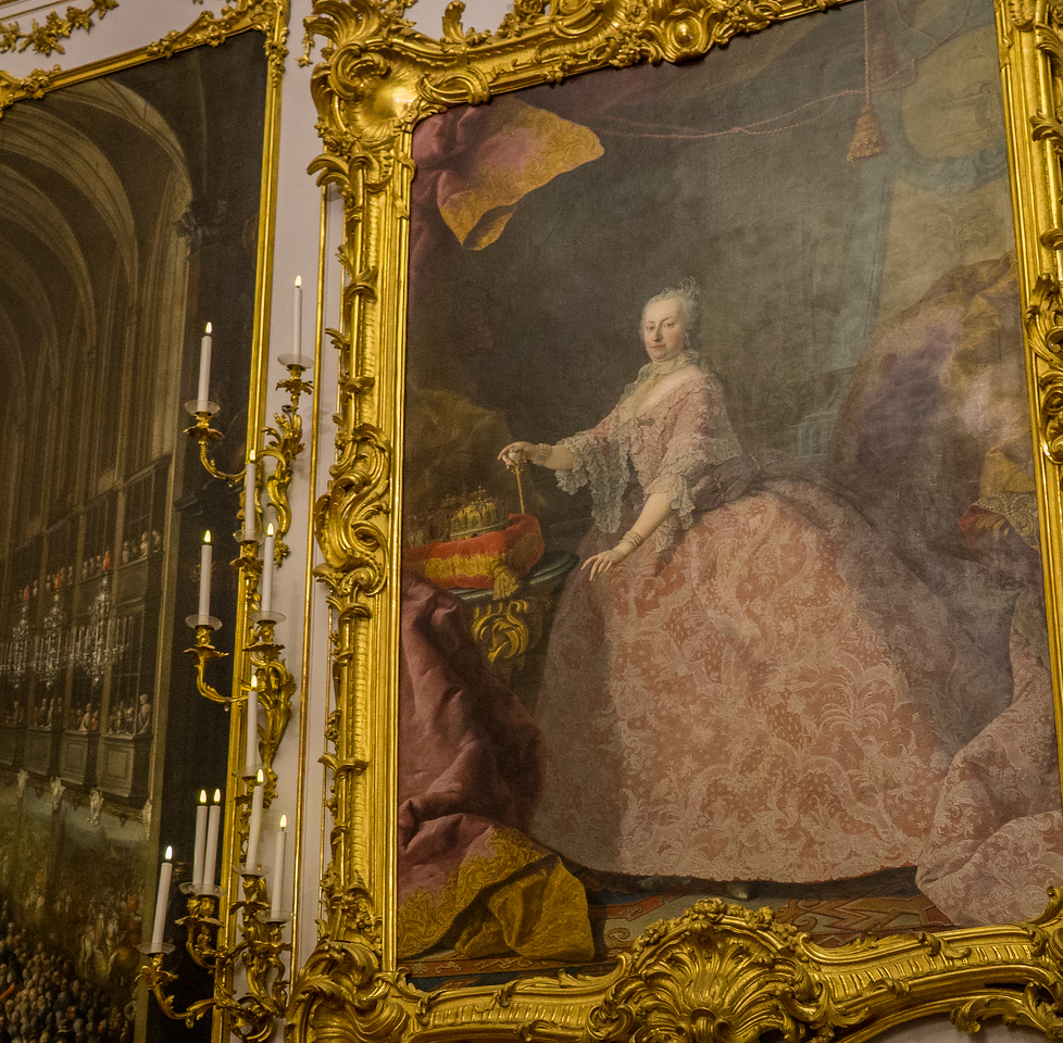 Portrait of Maria Theresa, Queen of the Austrohungarian Empire
