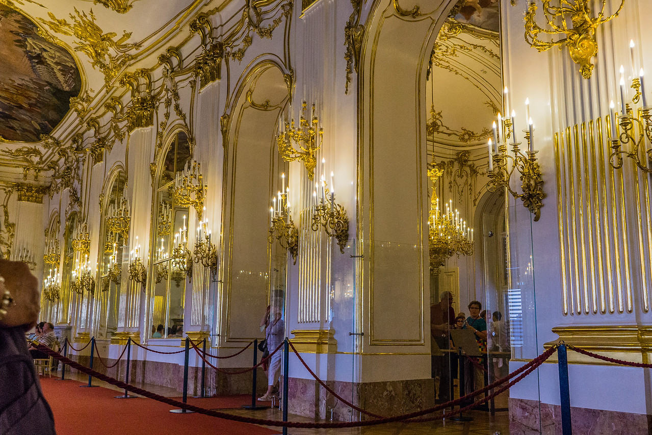 Schonbrunn Palace, Vienna. Great Gallery