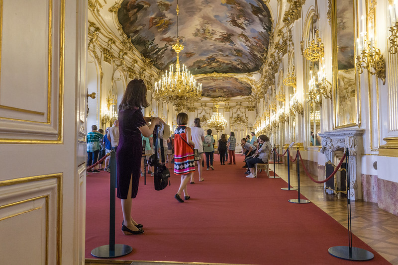 Schonbrunn Palace, Vienna. Great Gallery