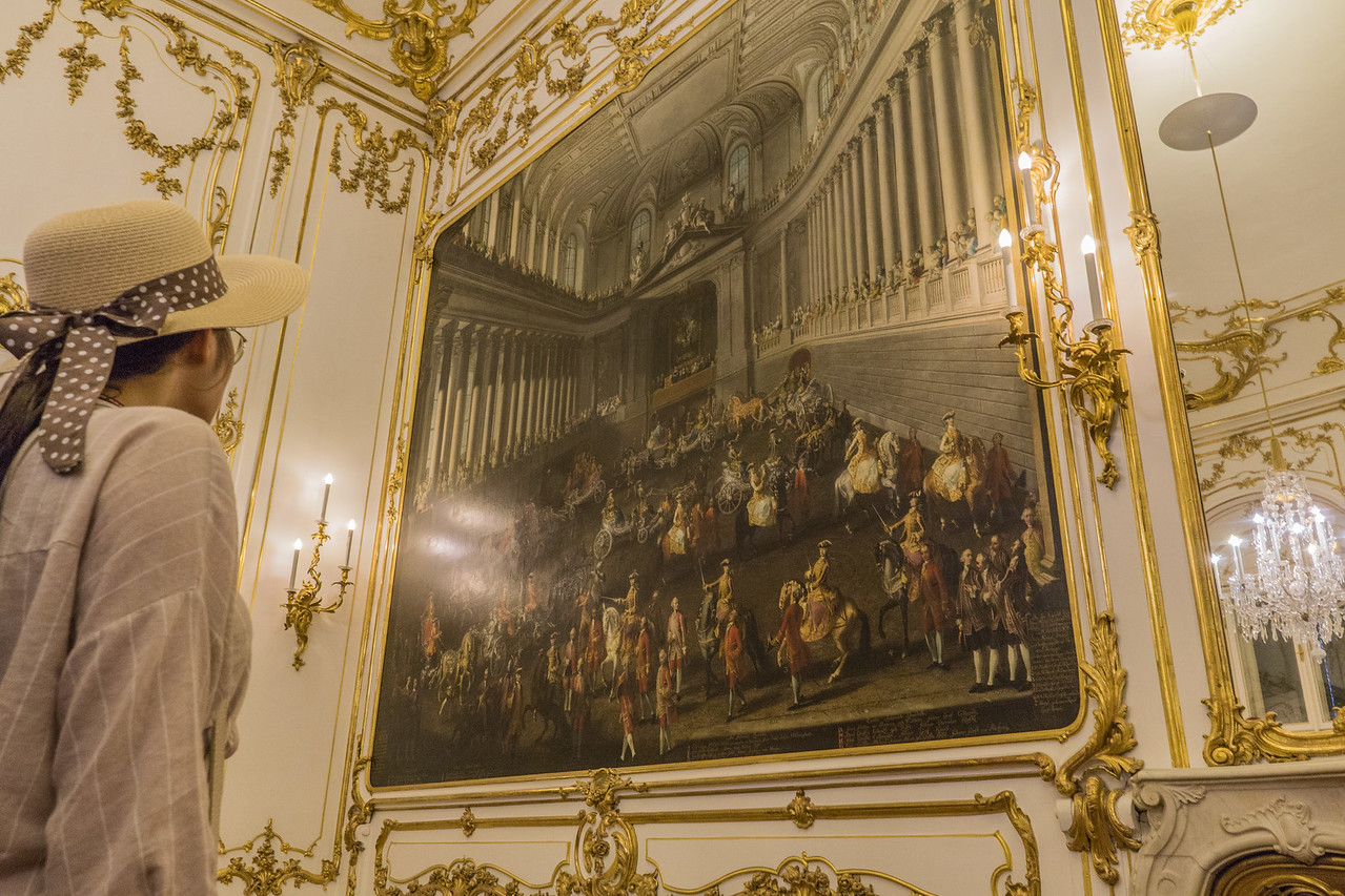 Painting in Carousel Room