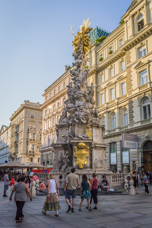 Plague Column, Vienna