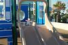 001 Flat Stanley on Daytona Beach Slide