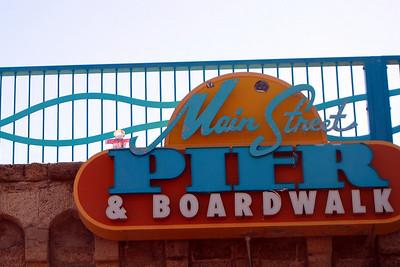 011 Flat Stanley on Daytona Beach Main St Pier