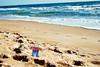 003 Flat Stanley on Daytona Beach