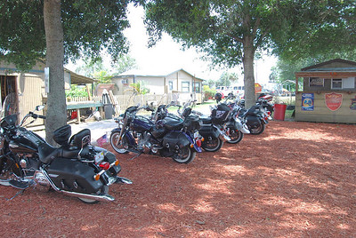 Bikes at the Lone Cabbage