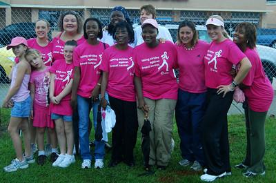012 Walk Team 2008 Making Strides Against Breast Cancer Daytona Beach, Florida