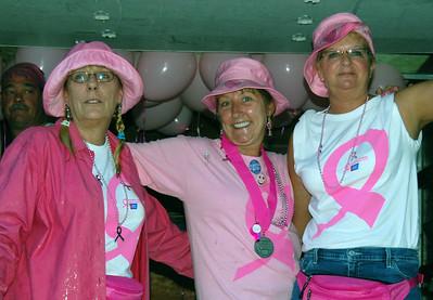 006 Pink Hurricanes at Making Strides 2008 Walk