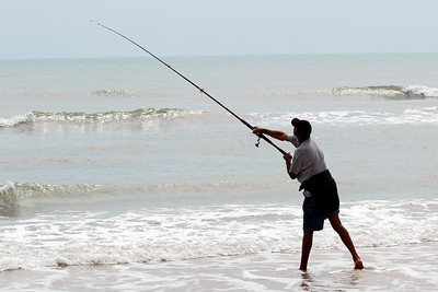 08 The Beach Toll Taker can watch the surf fishermen