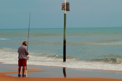 09 The Beach Toll Taker can watch the surf fishermen