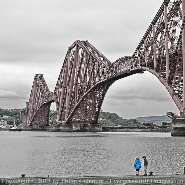 Under Forth Bridge, Scotland