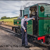 Fireman on the Barnstaple Railway