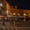 Crowds in the Piazza del Campo