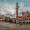 Morning at the Piazza del Campo