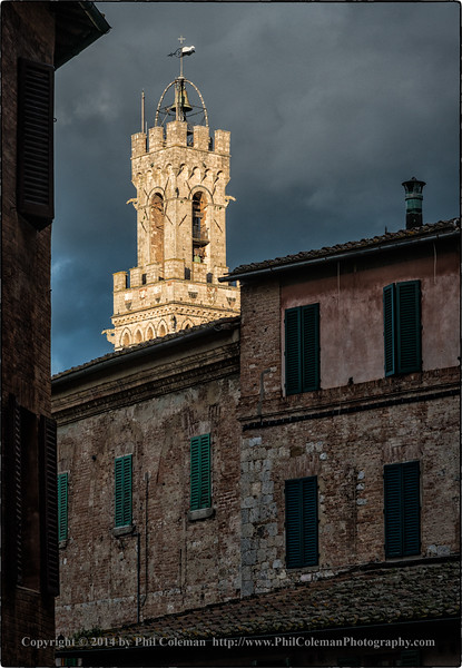 First View of Siena