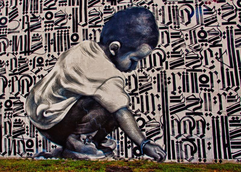 Street Art Miami HDR