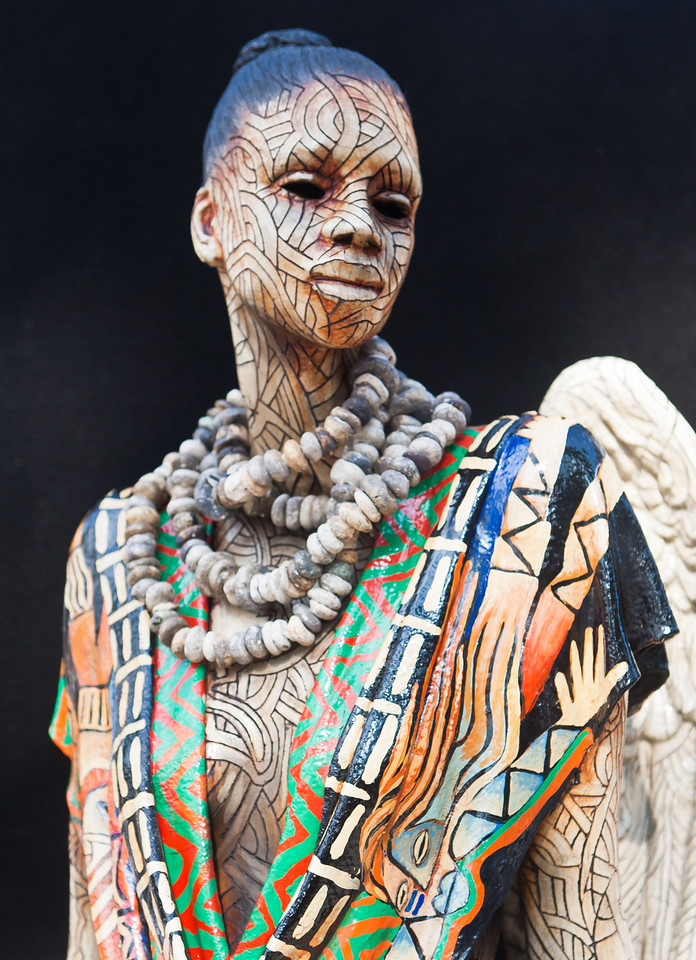 African Sculpture by Woodrow Nash