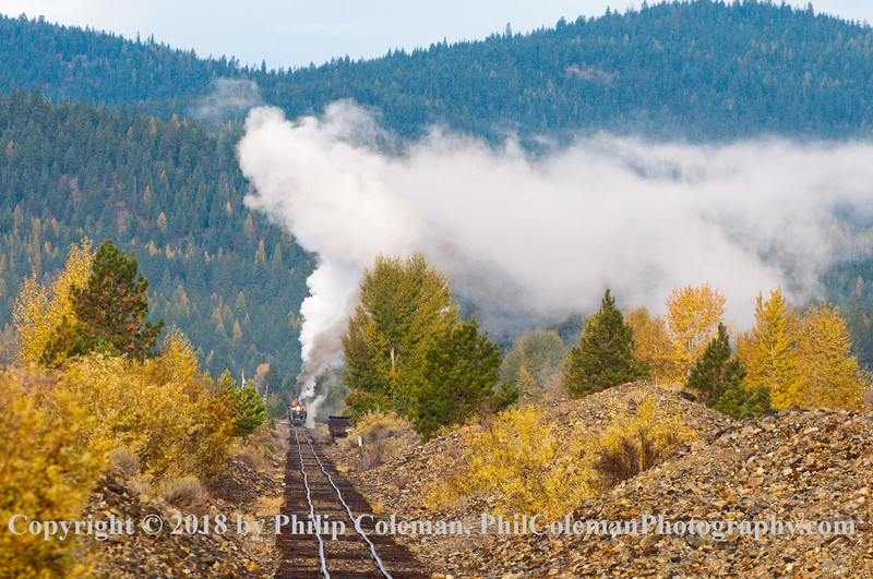 Down the line, Sumpter Valley Railroad, Oregon