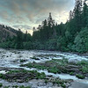 Sunrise on the Umpqua River