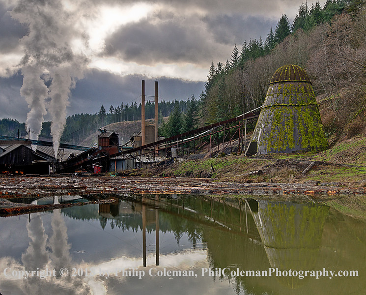 Hull Oakes, One of the Last Sawmills in Oregon