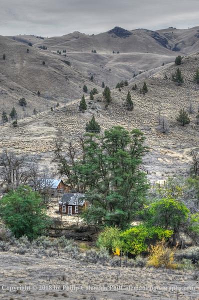 Old Farm near John Day Fossil Beds, Oregon