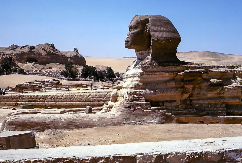 The Sphynx, Giza Egypt, 1979